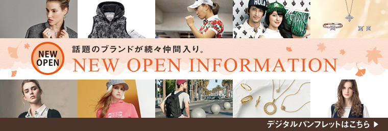 NEW OPEN INFORMATION