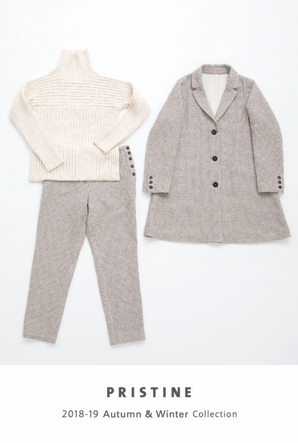 ☆プリスティン☆2018 AUTUMN&WINTER NEW ARRIVAL