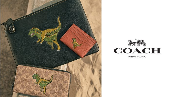 COACH POP-UP STORE with Rexy