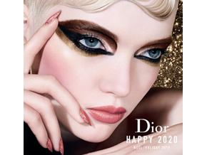 「Dior」クリスマスルックメイクアップイベント