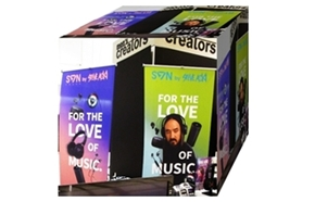 SVN sound × STEVE AOKI POP UP STORE