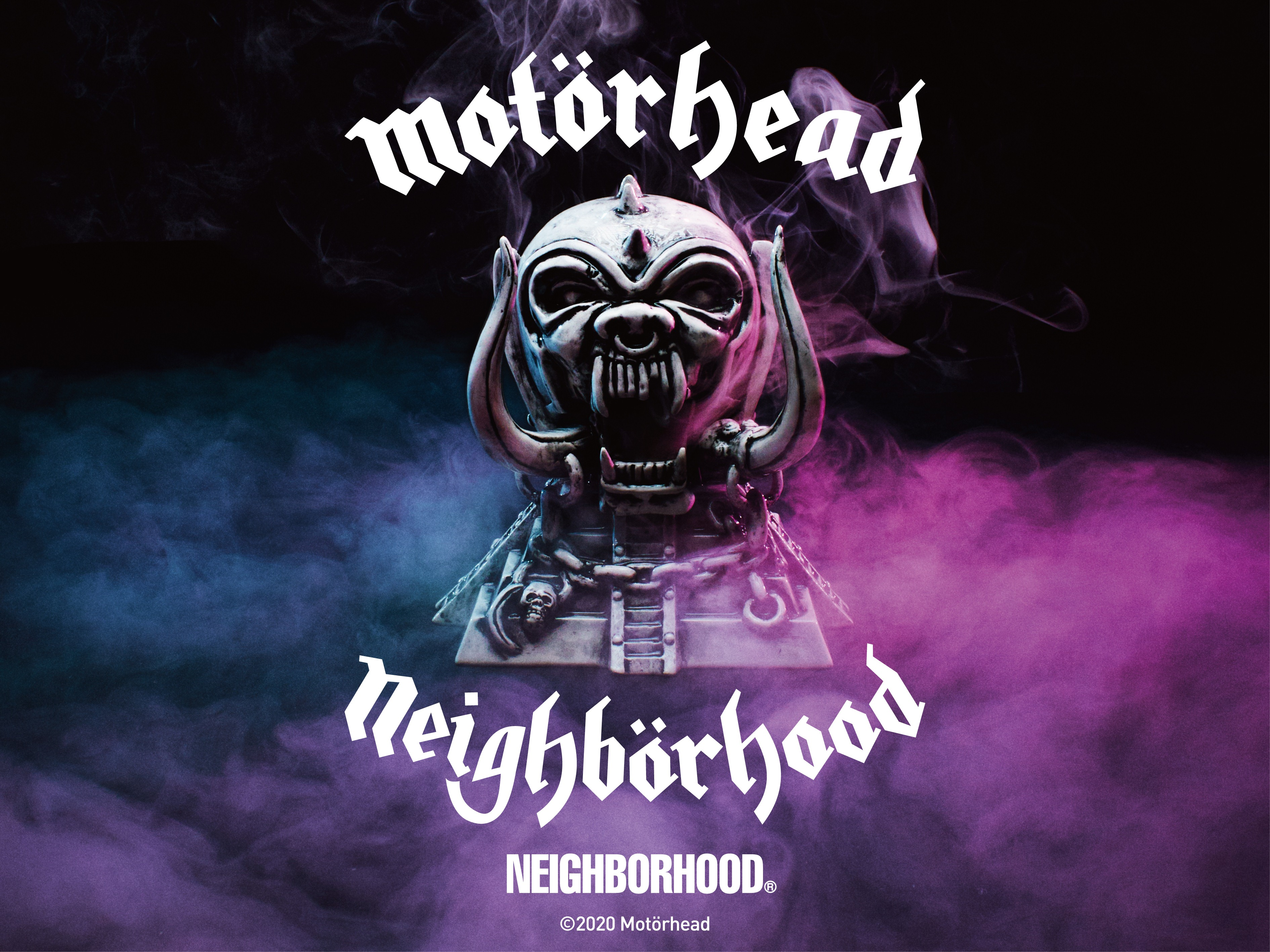 「NEIGHBORHOODxMotörhead」発売のお知らせ